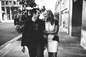 This man right here. We took engagement photos last month in downtown San Diego and they're all kinds of beautiful, especially this one.