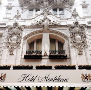 The exterior of the Hotel Monteleone is as stunning as the interior.