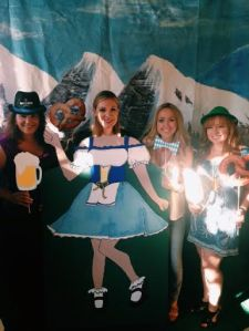 Celebrating Oktoberfest with the Junior League